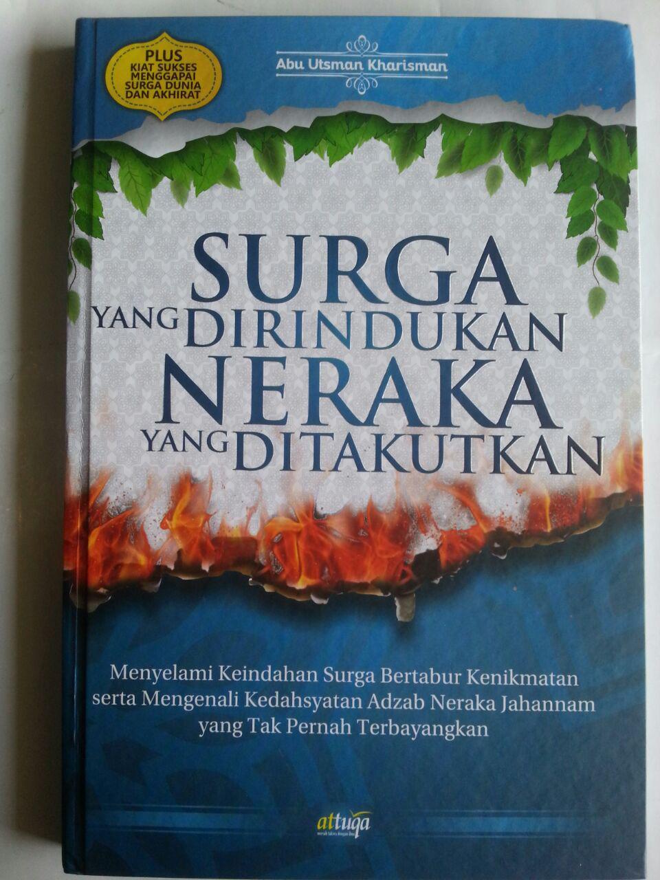 Buku Surga Yang Dirindukan Neraka Yang Ditakutkan cover 2