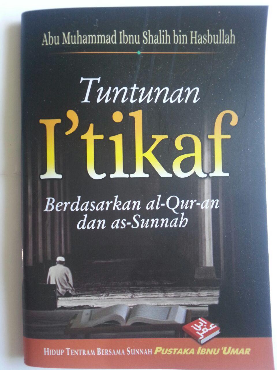 Buku Tuntunan I'tikaf Berdasarkan Al-Qur'an Dan As-Sunnah cover 2