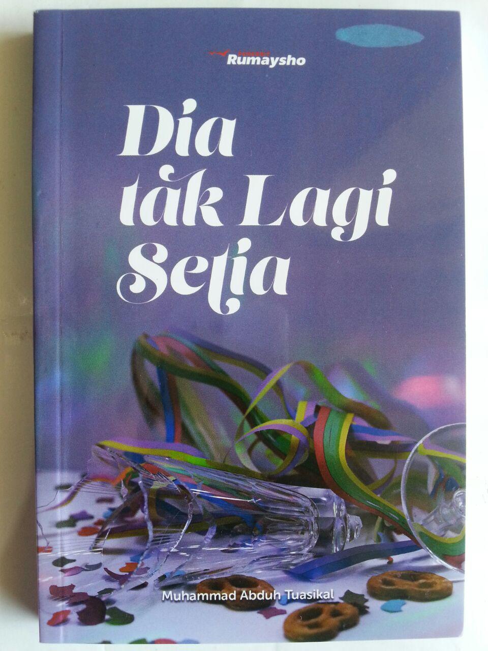 Buku Dia Tak Lagi Setia cover 2