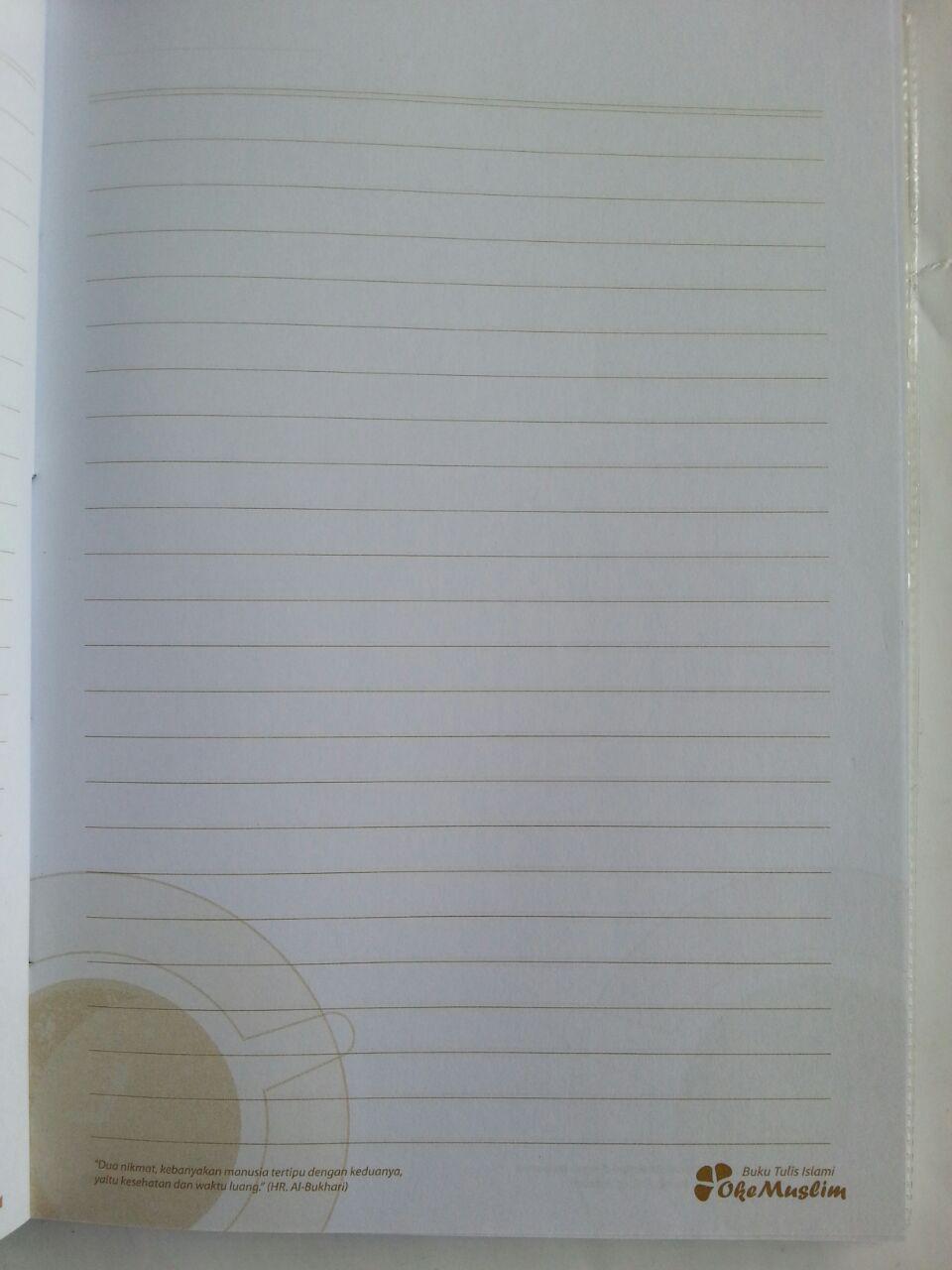Buku Diary Muslim 2 Nikmat Yang Sering Dilalaikan Manusia isi 2