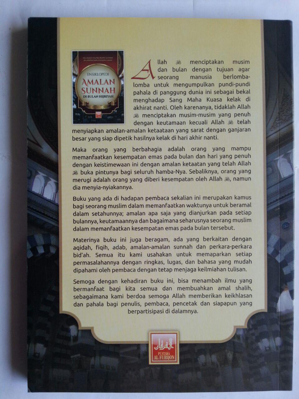 Buku Ensiklopedi Amalan Sunnah Di Bulan Hijriah cover
