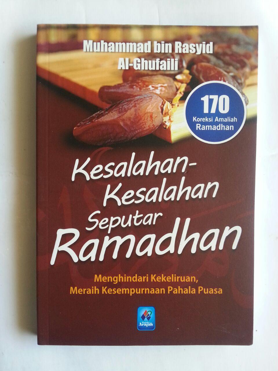 Buku Kesalahan-Kesalahan Seputar Ramadhan 170 Koreksi cover 2