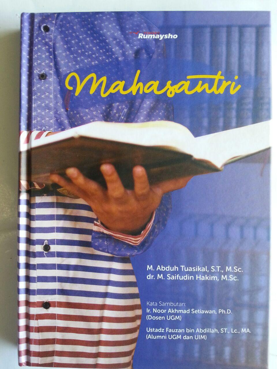 Buku Mahasantri Panduan Siswa Sukses Juga Belajar Agama cover 2