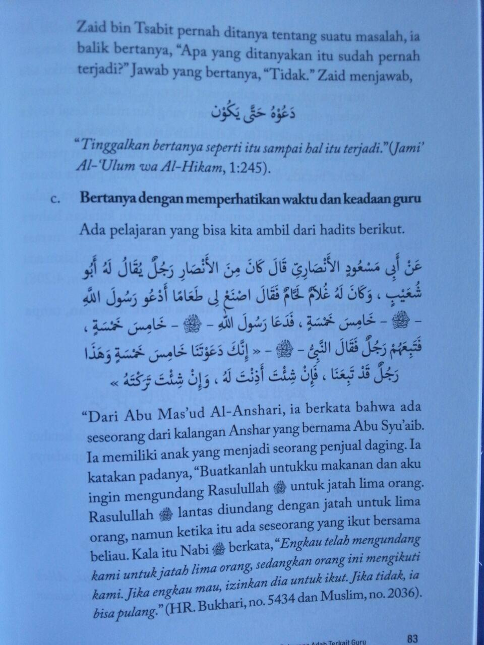 Buku Mahasantri Panduan Siswa Sukses Juga Belajar Agama isi 3