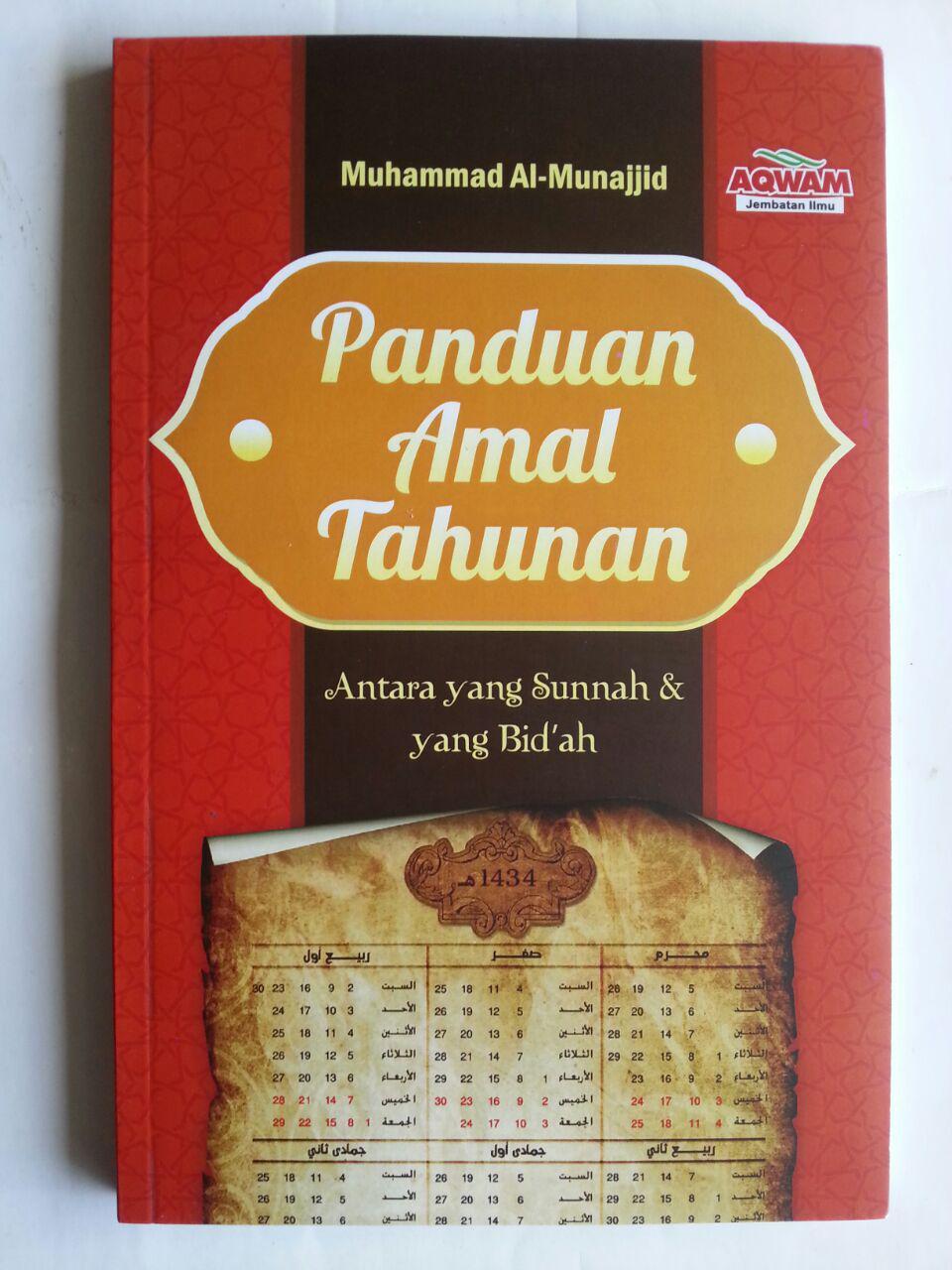 Buku Panduan Amal tahunan Antara Yang Sunnah Dan Bid'ah cover 2