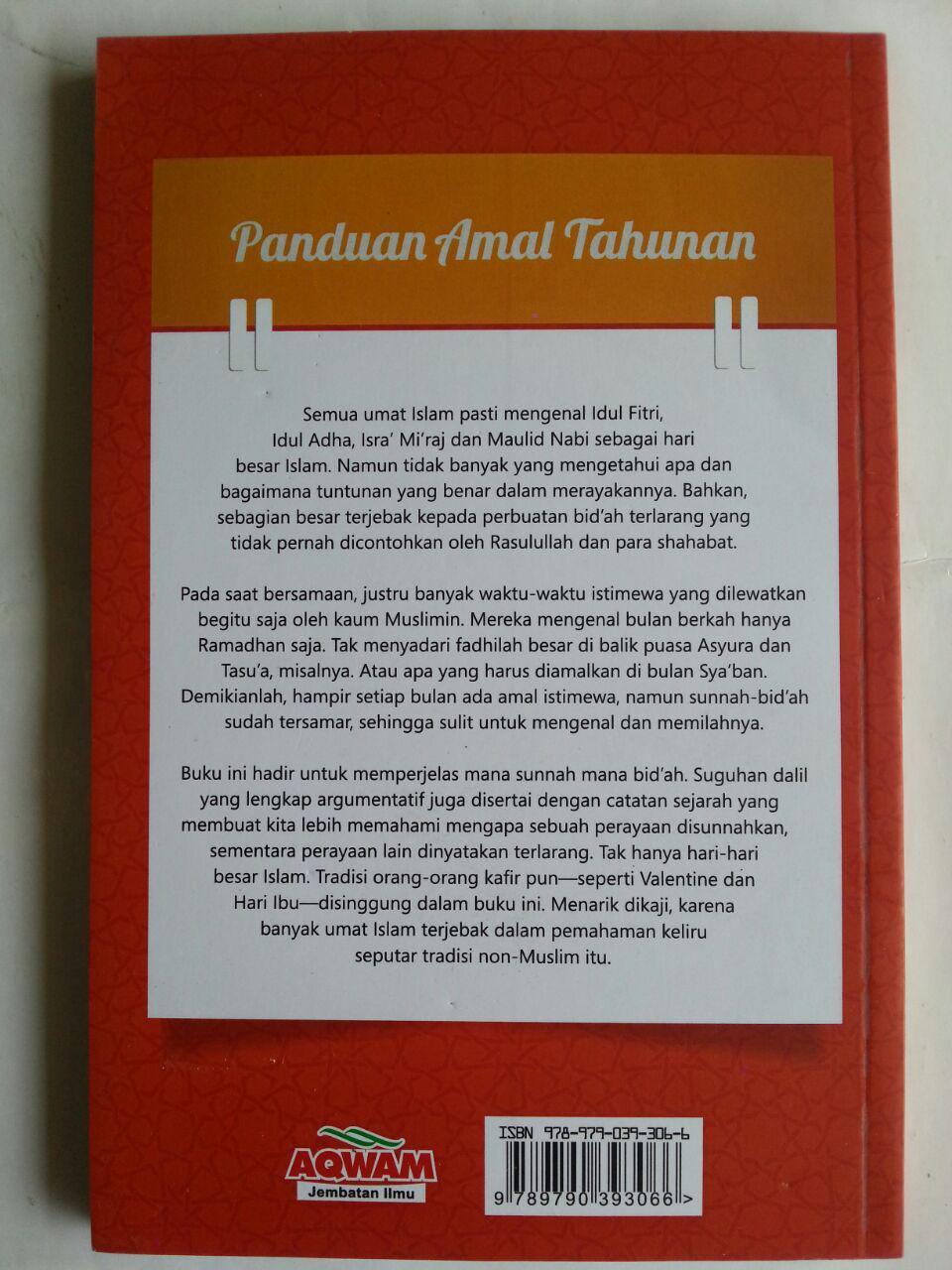 Buku Panduan Amal tahunan Antara Yang Sunnah Dan Bid'ah cover