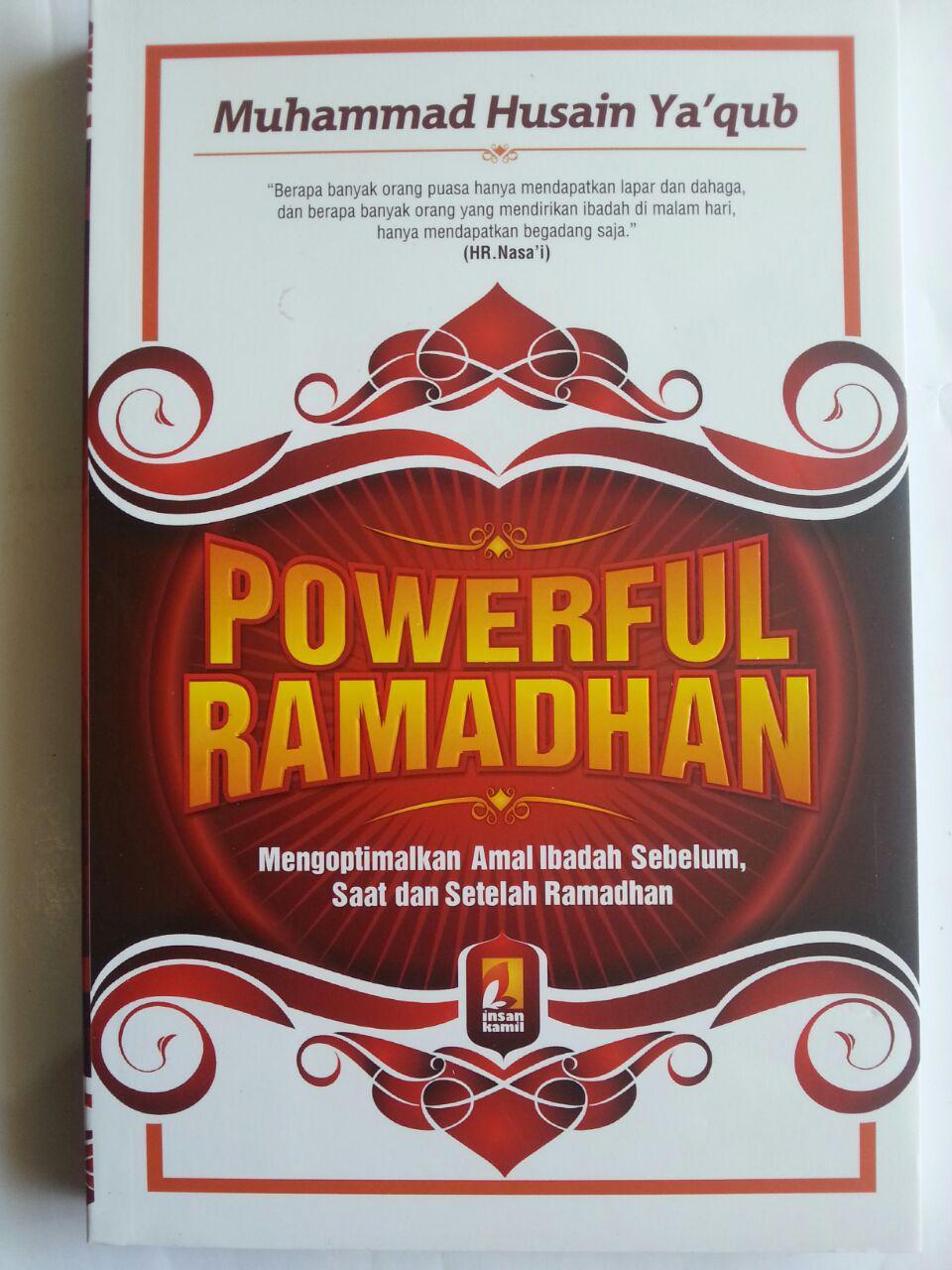 Buku Powerful Ramadhan Mengoptimalkan Amal Ramadhan cover 2