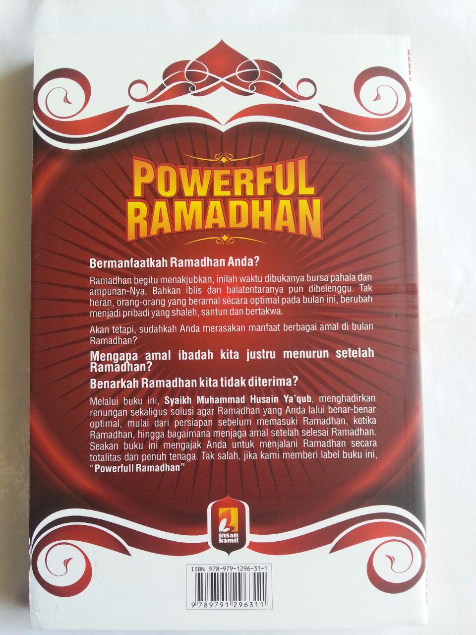 Buku Powerful Ramadhan Mengoptimalkan Amal Ramadhan cover