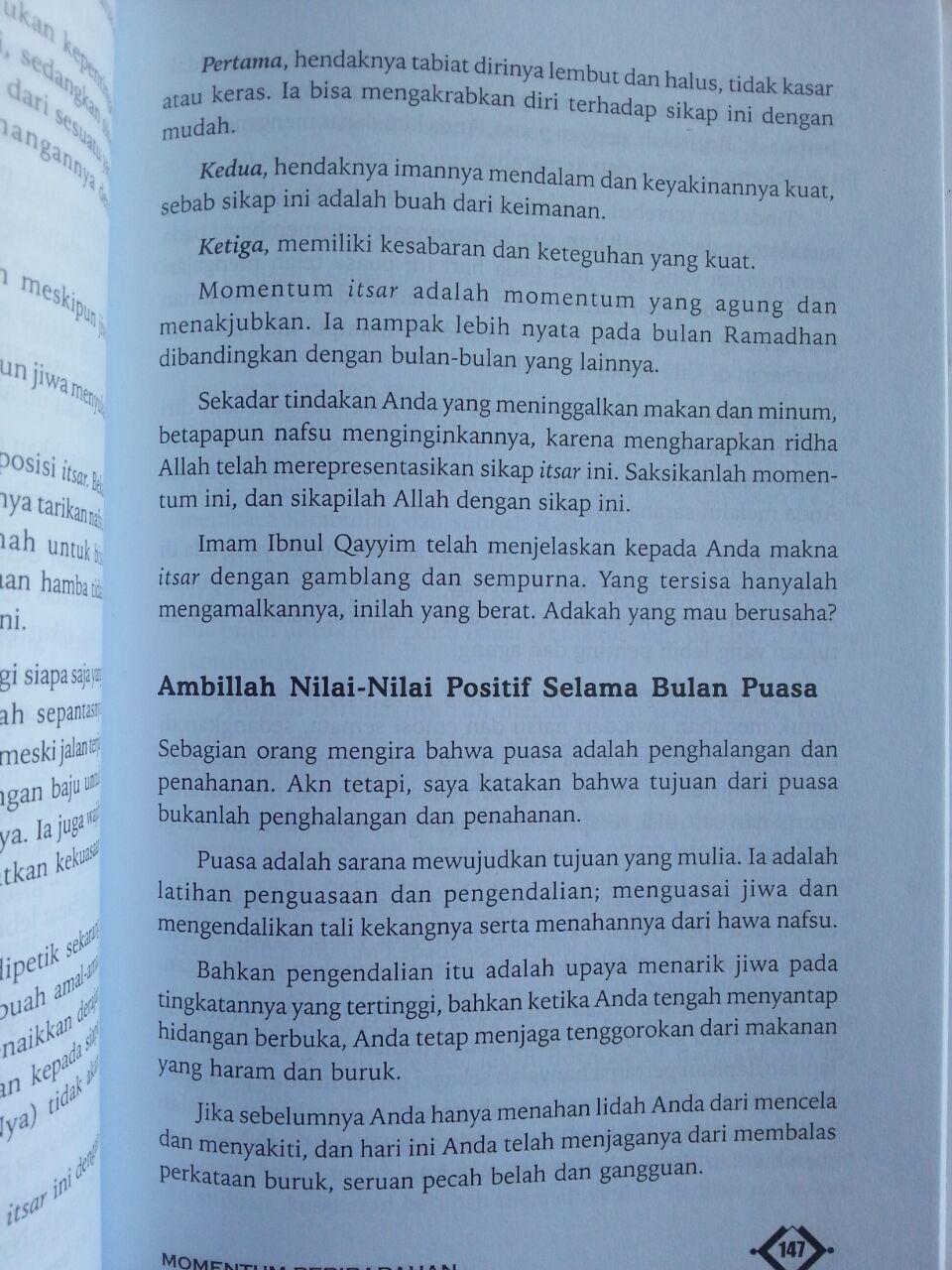Buku Powerful Ramadhan Mengoptimalkan Amal Ramadhan isi 3
