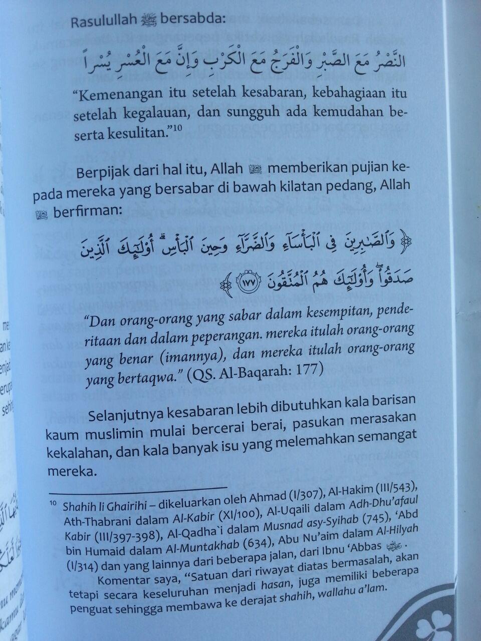 Buku Sabar Anugerah Terindah Tips Meraih Pahala Tanpa Batas isi 3