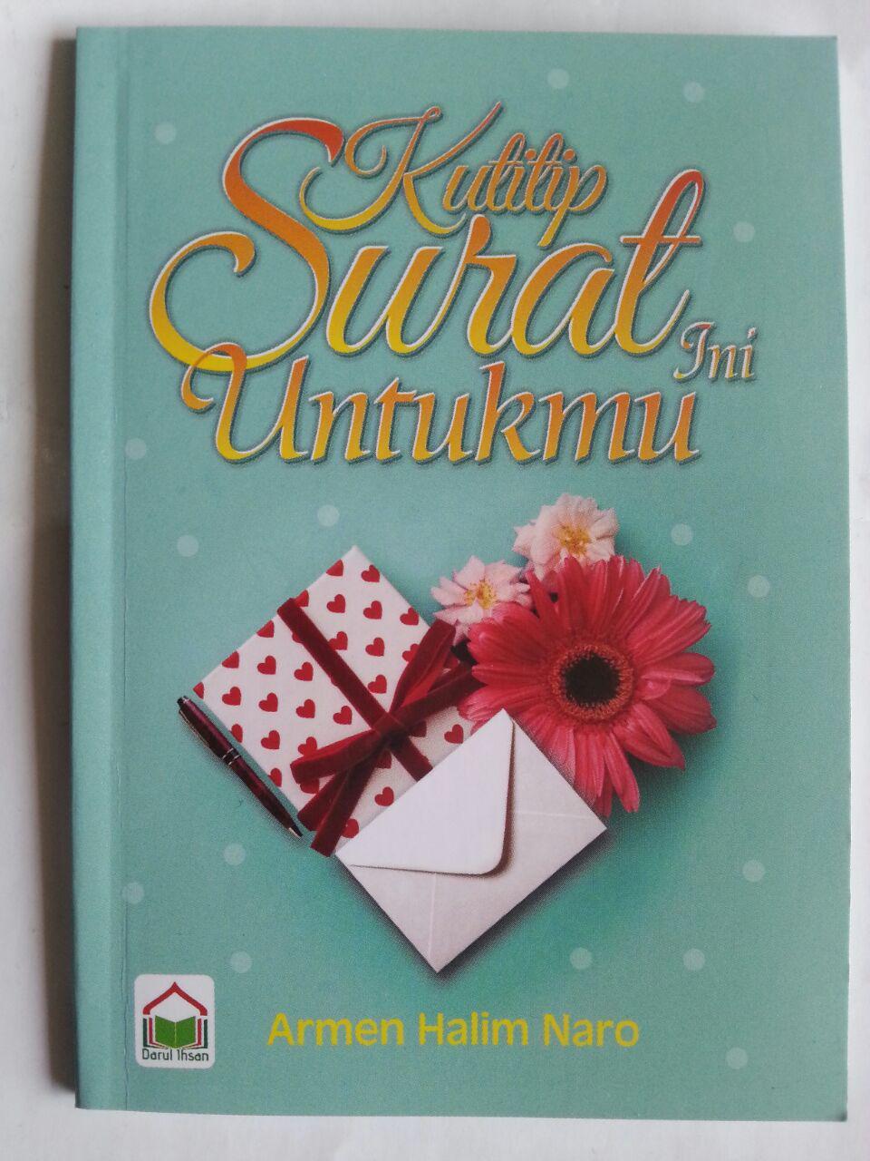 Buku Saku Kutitip Surat Ini Untukmu cover 2