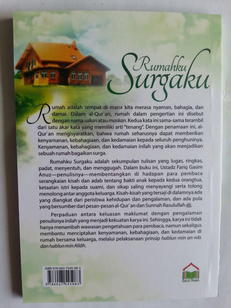 Buku Saku Rumahku Surgaku cover