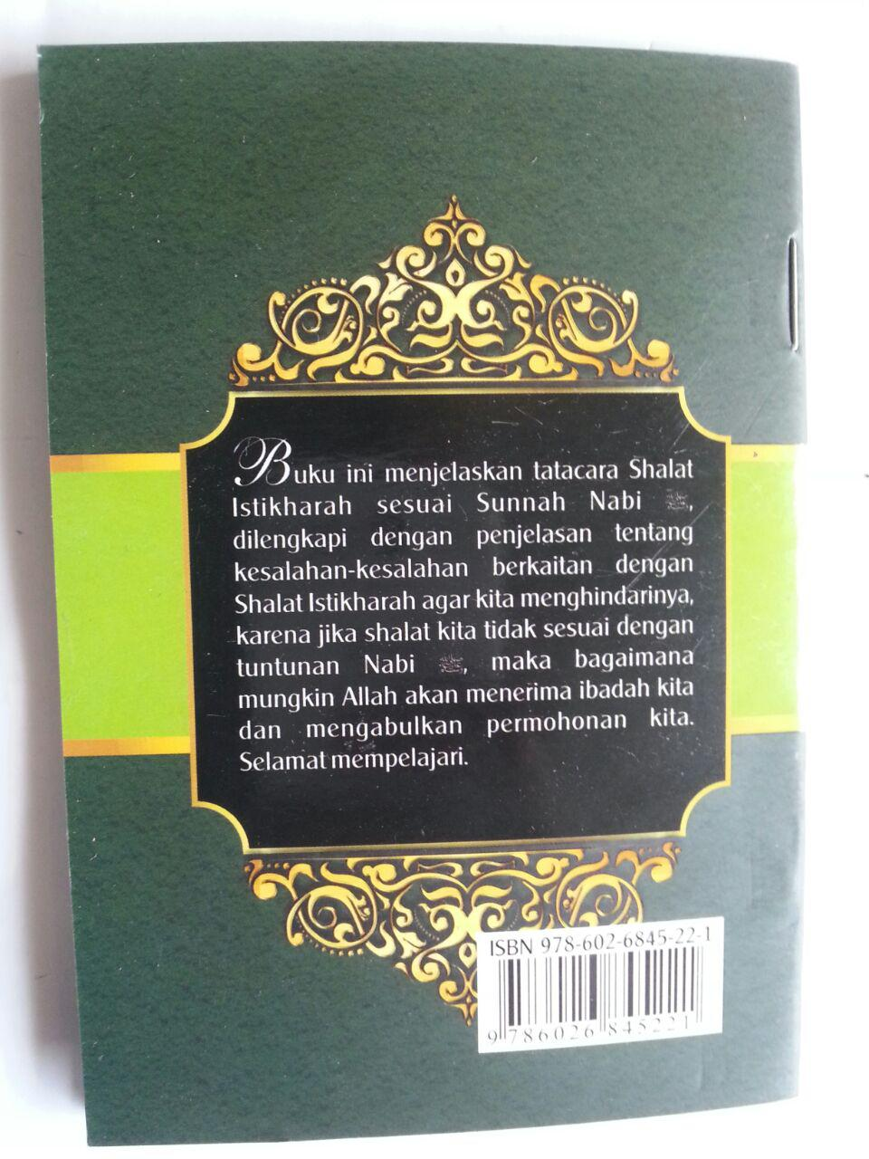 Buku Saku Tuntunan Shalat Istikharah Sesuai Sunnah Nabi cover 2