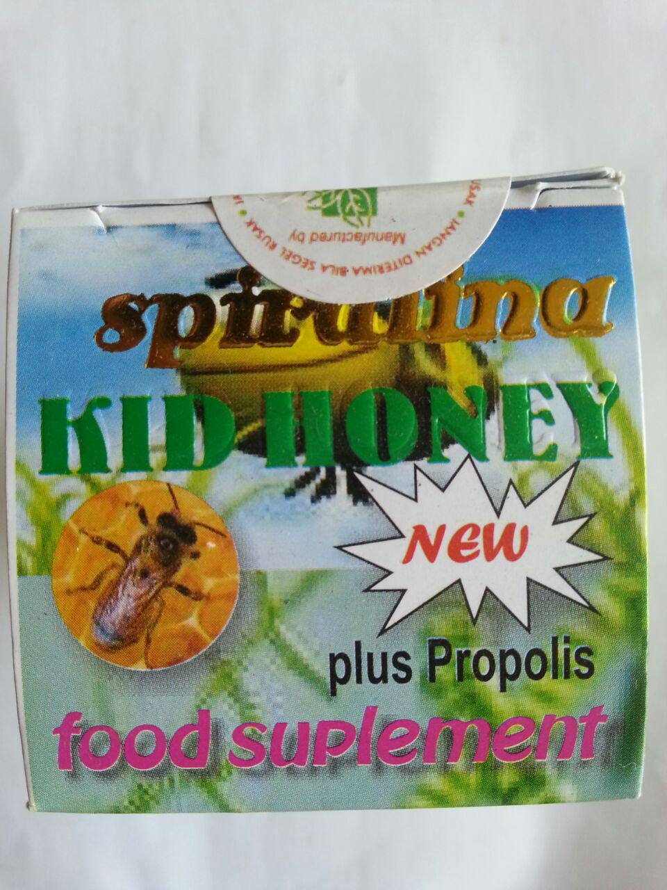 Madu Anak Spirulina Kid Honey New Plus Propolis cover 1
