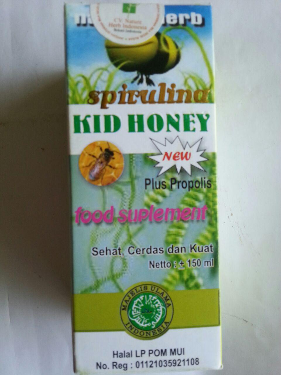 Madu Anak Spirulina Kid Honey New Plus Propolis cover 5