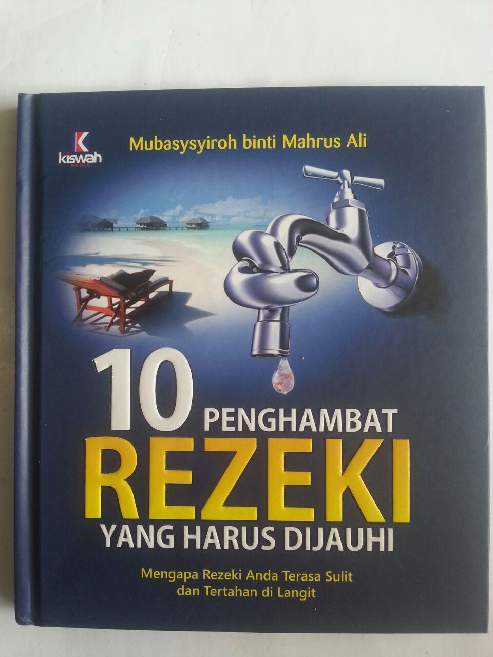 Buku 10 Penghambat Rezeki Yang Harus Dijauhi cover 2
