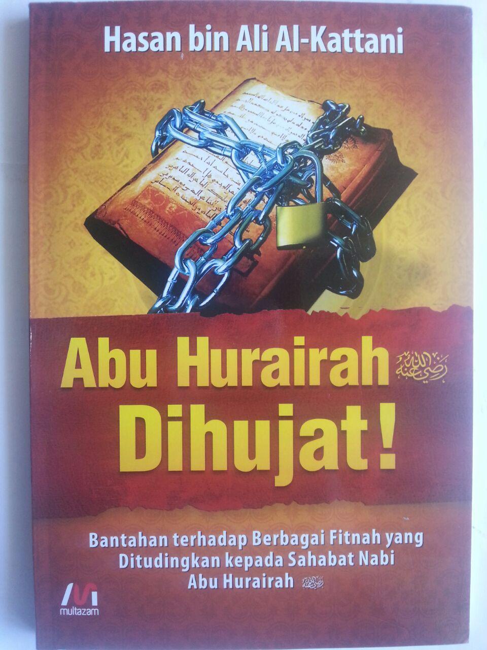 Buku Abu Hurairah Dihujat Bantahan Terhadap Berbagai Fitnah cover 2