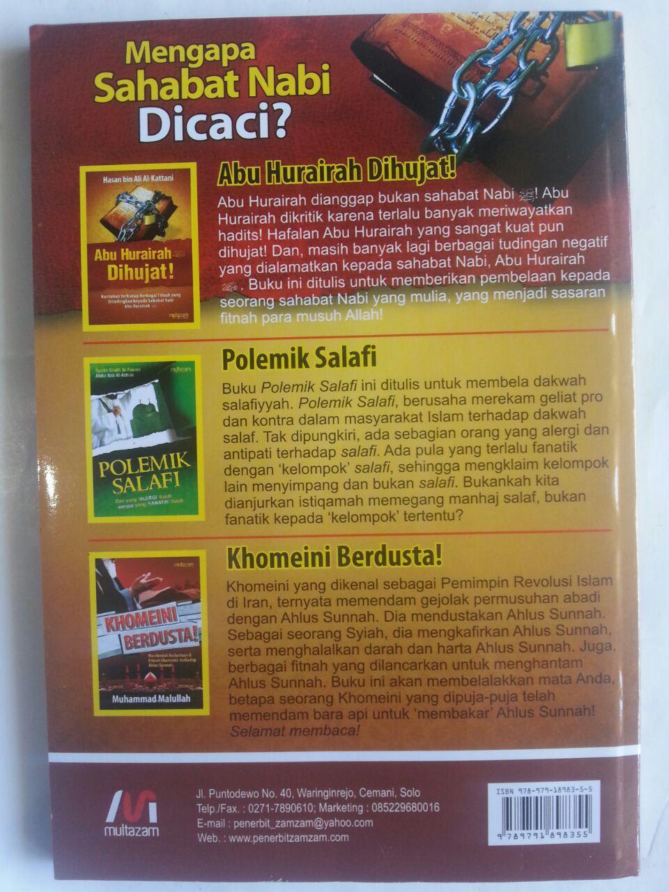 Buku Abu Hurairah Dihujat Bantahan Terhadap Berbagai Fitnah cover