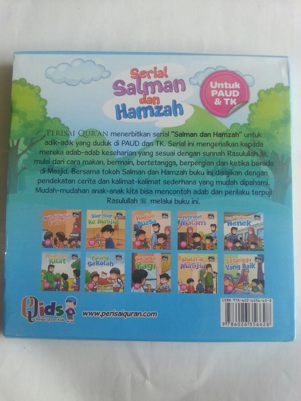 Buku Anak Serial Salman Dan Hamzah cover 2