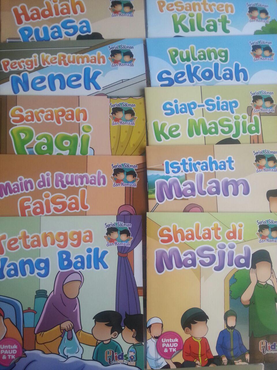 Buku Anak Serial Salman Dan Hamzah cover