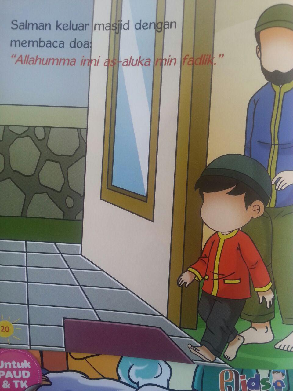 Buku Anak Serial Salman Dan Hamzah isi 2