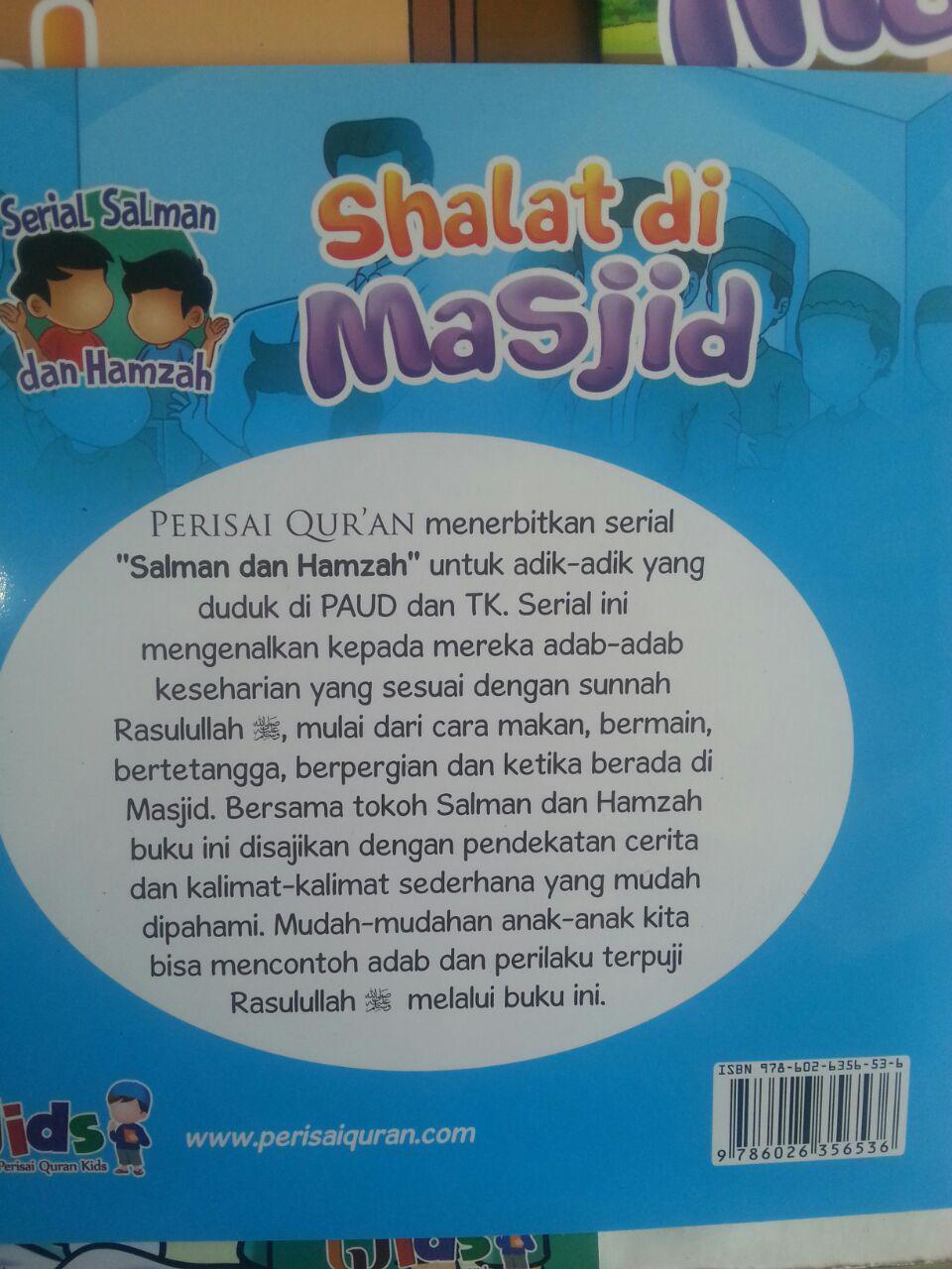 Buku Anak Serial Salman Dan Hamzah isi 3