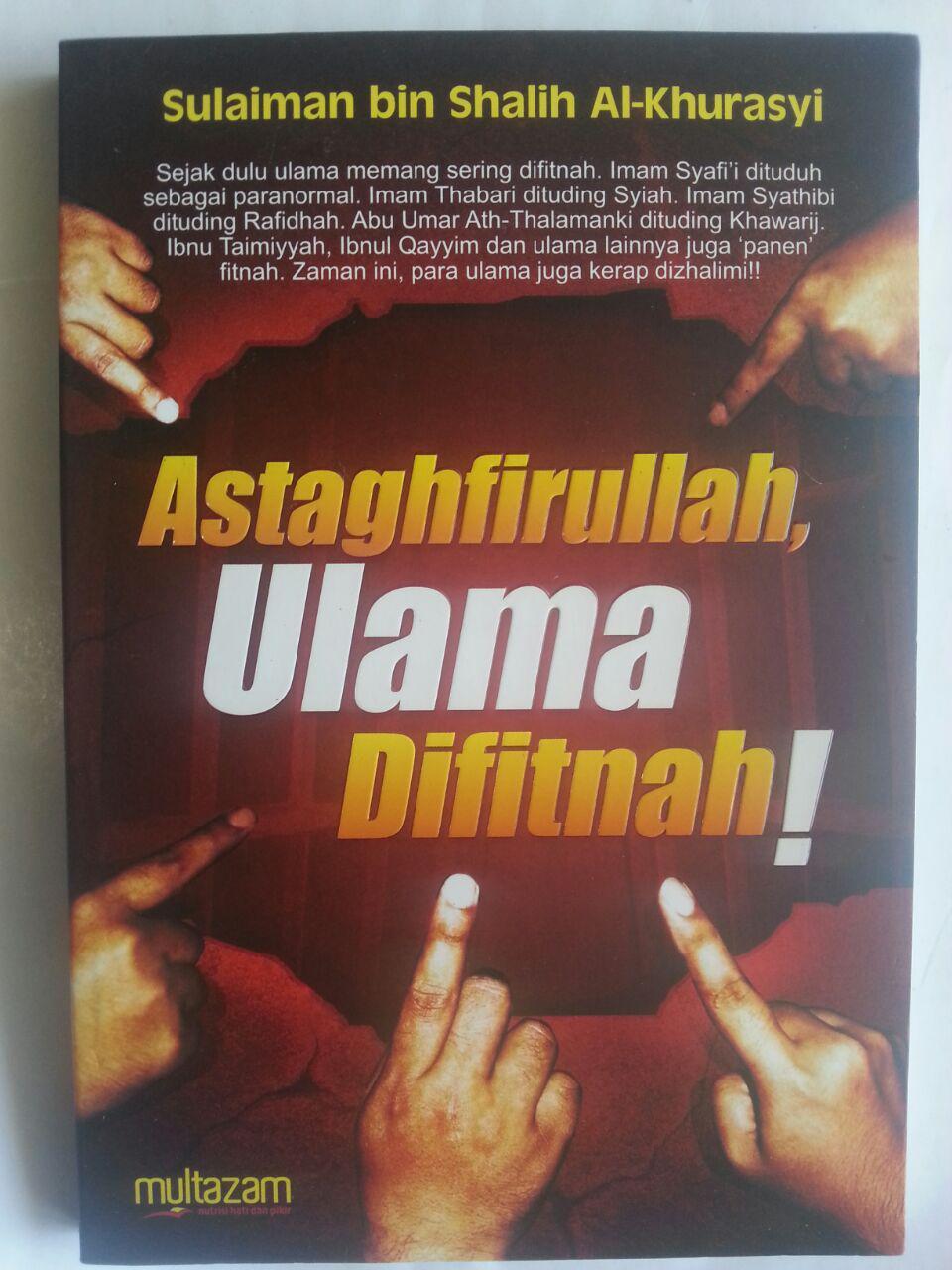 Buku Astaghfirullah Ulama Difitnah cover 2