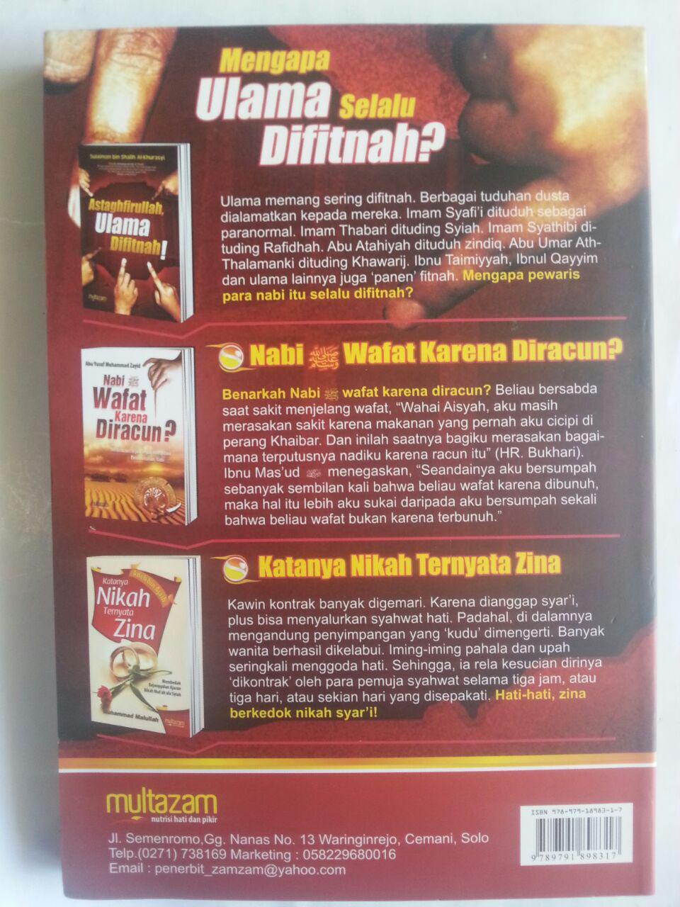 Buku Astaghfirullah Ulama Difitnah cover