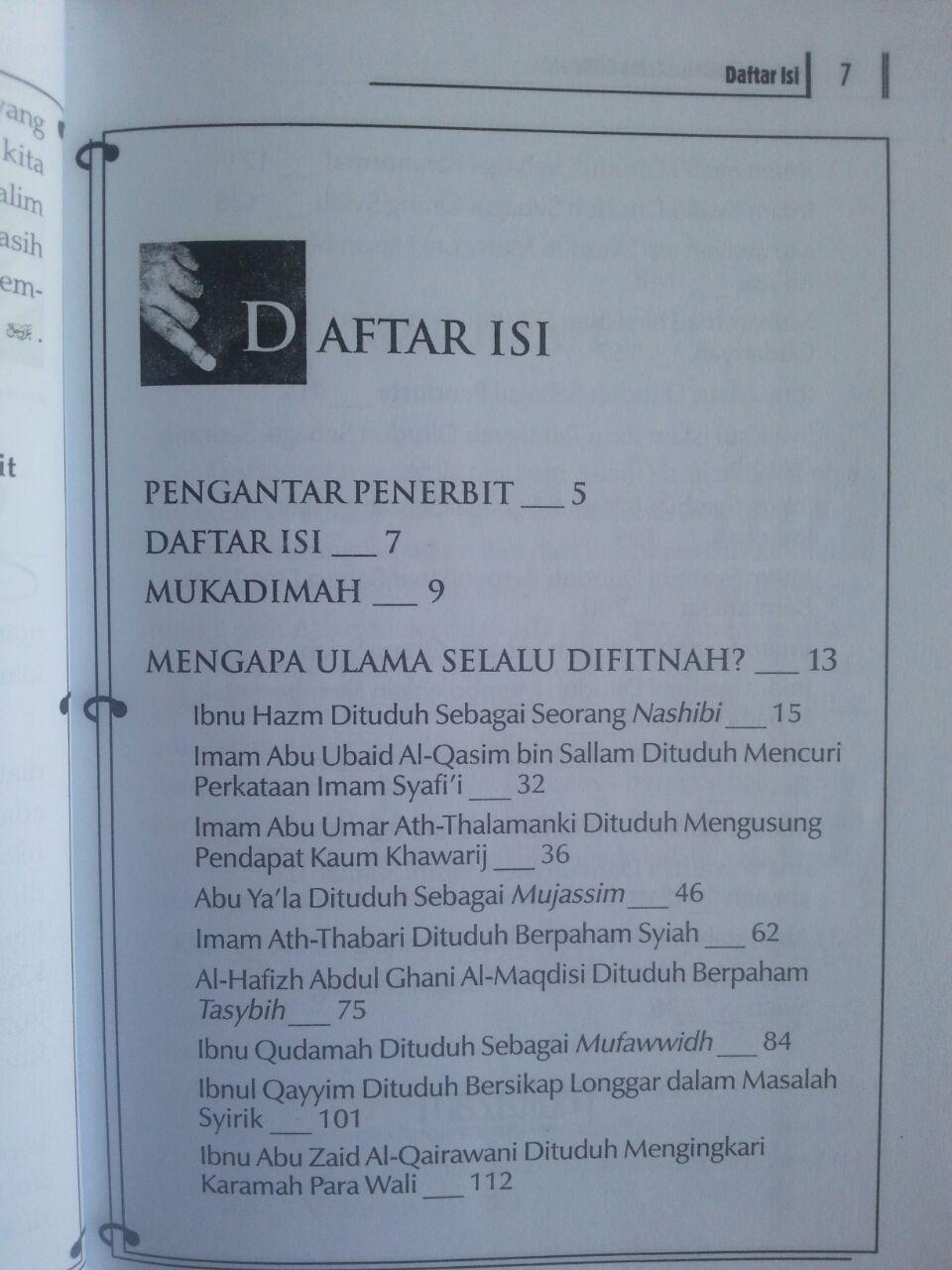 Buku Astaghfirullah Ulama Difitnah isi