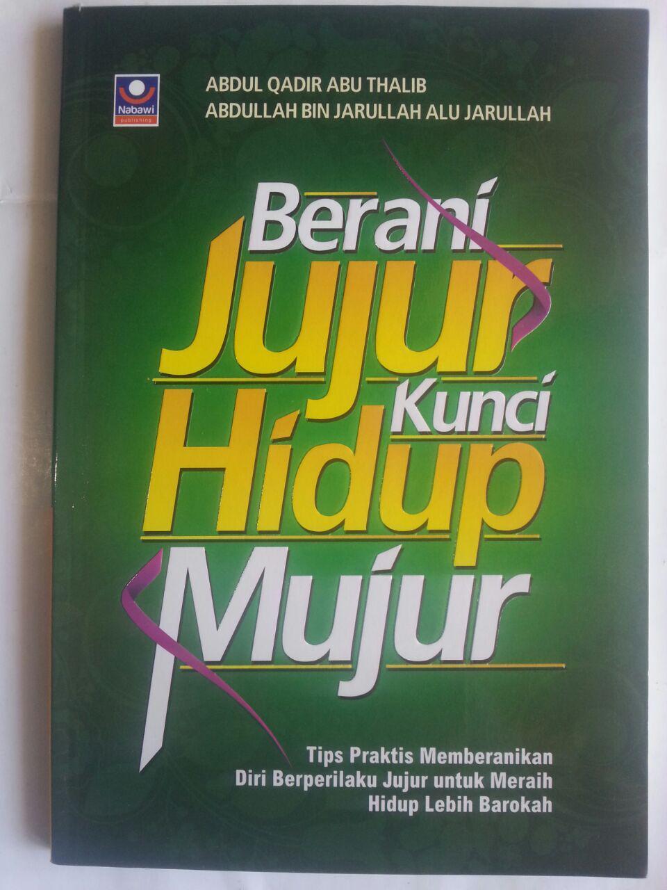 Buku Berani Jujur Kunci Hidup Mujur Tips Praktis cover 2