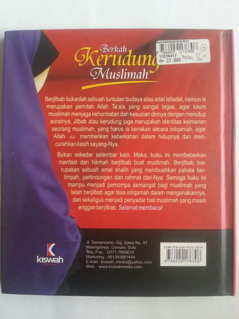 Buku Berkah Kerudung Muslimah Beragam Manfaat Berjilbab cover