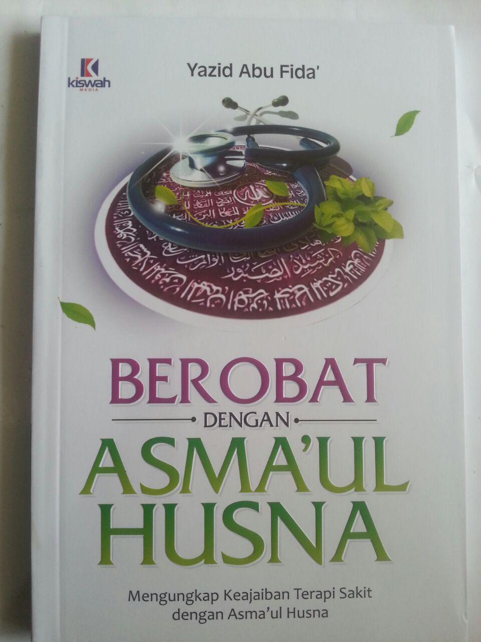 Buku Berobat Dengan Asmaul Husna Keajaiban Terapi cover 2