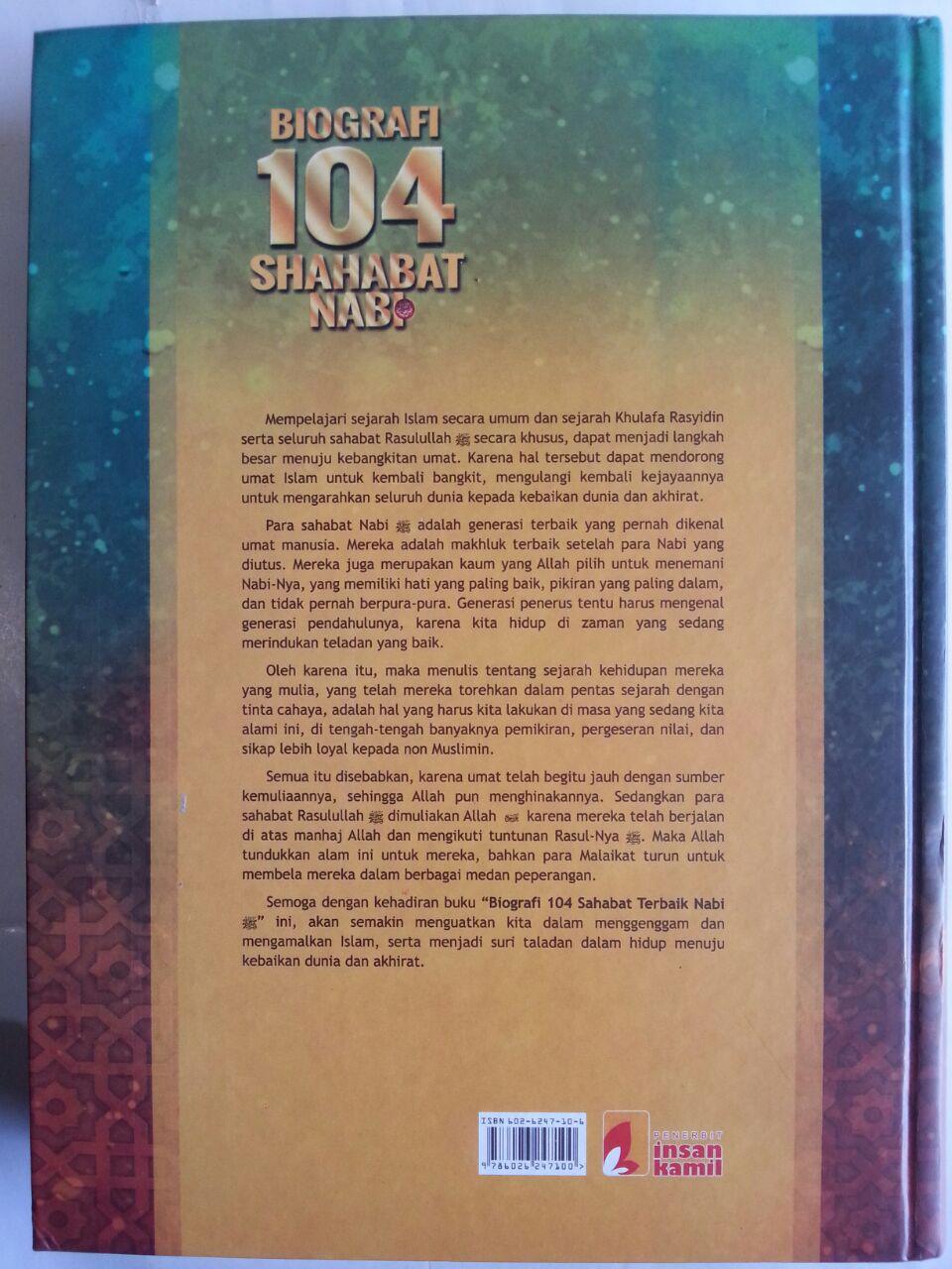 Buku Biografi 104 Shahabat Nabi cover