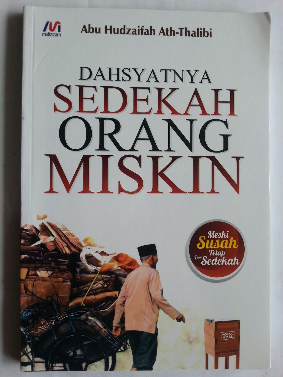 Buku Dahsyatnya Sedekah Orang Miskin cover 2