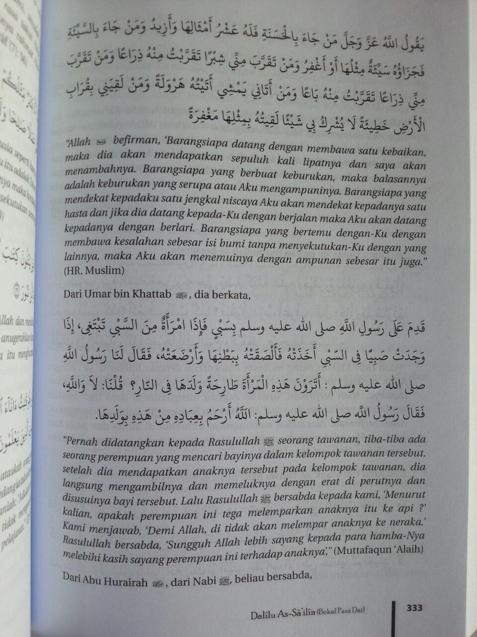 Buku Dalilu As-Sailin Bekal Seorang Dai isi 4