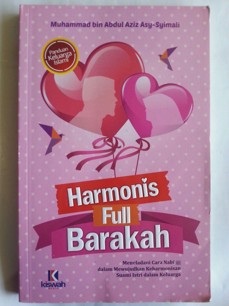 Buku Harmonis Full Barakah Cara Nabi Mewujudkan Keharmonisan cover 2