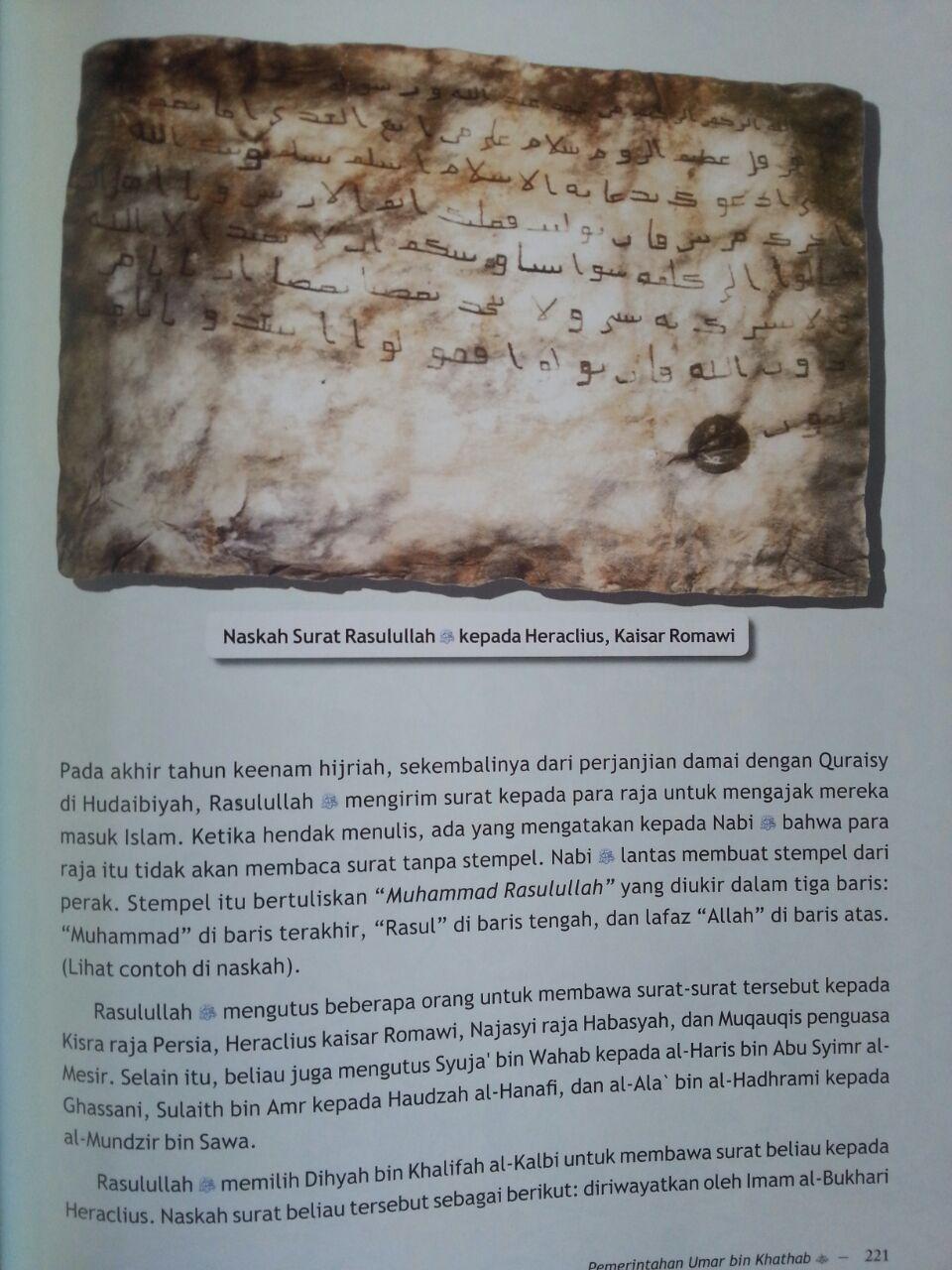 Buku Jejak Khulafaur Rasyidin Umar bin Khathab isi 3