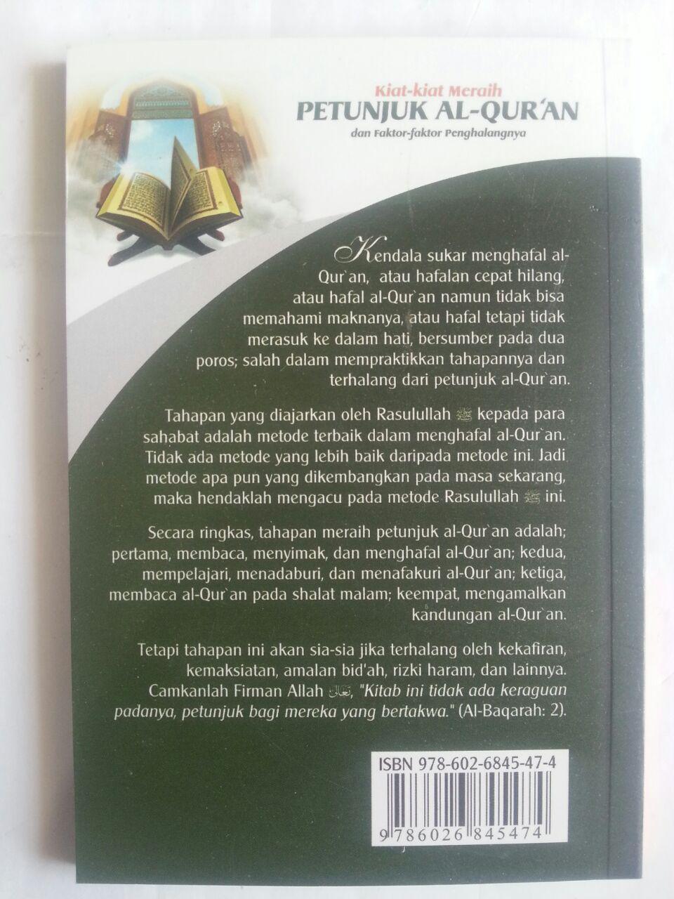 Buku Kiat-Kiat Meraih Petunjuk Al-Qur'an Dan Faktor Penghalang cover