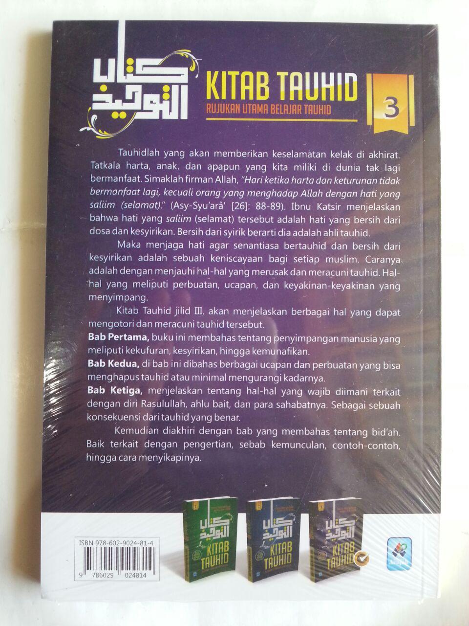 Buku Kitab Tauhid Rujukan Utama Belajar Tauhid 1 Set 3 Jilid cover 2