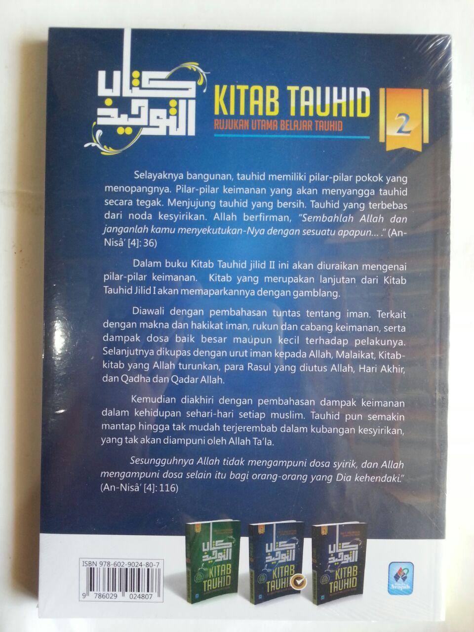 Buku Kitab Tauhid Rujukan Utama Belajar Tauhid 1 Set 3 Jilid cover 3