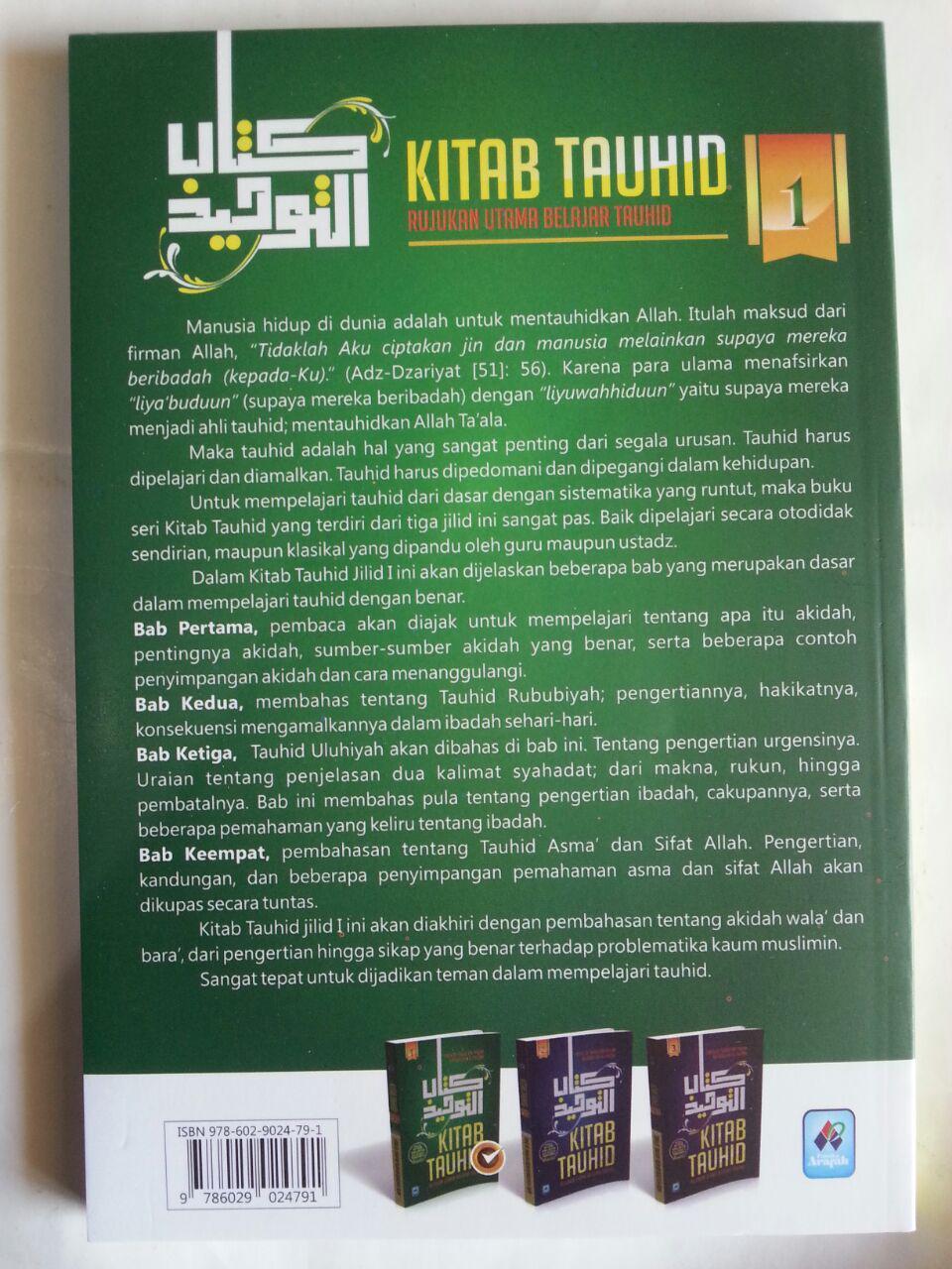 Buku Kitab Tauhid Rujukan Utama Belajar Tauhid 1 Set 3 Jilid cover 5