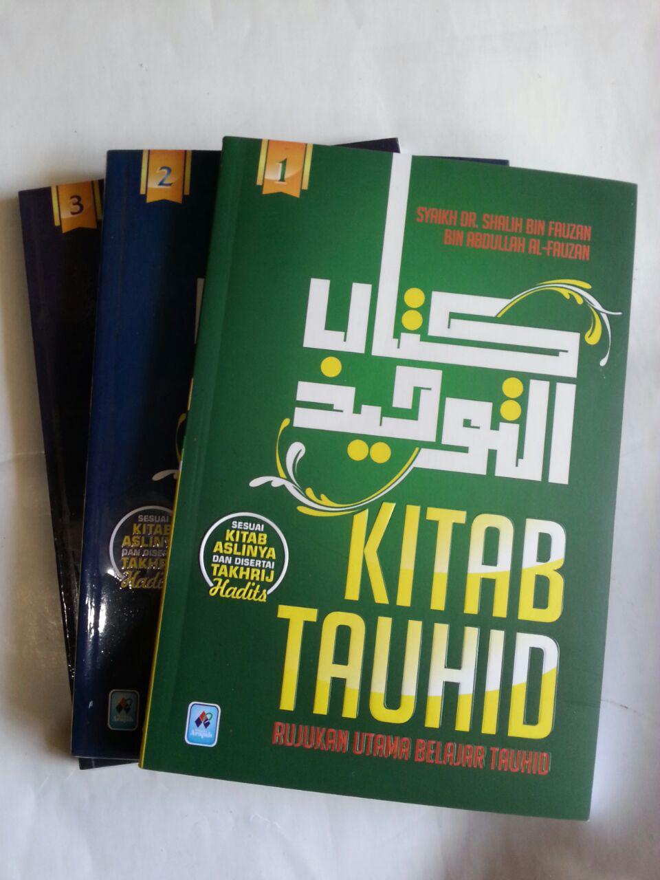 Buku Kitab Tauhid Rujukan Utama Belajar Tauhid 1 Set 3 Jilid cover 6