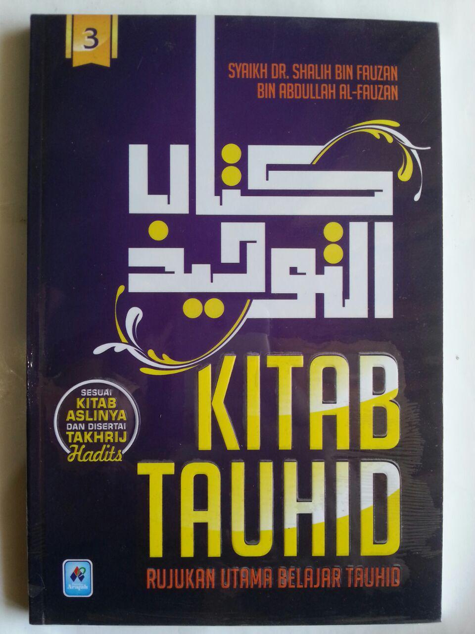Buku Kitab Tauhid Rujukan Utama Belajar Tauhid 1 Set 3 Jilid isi
