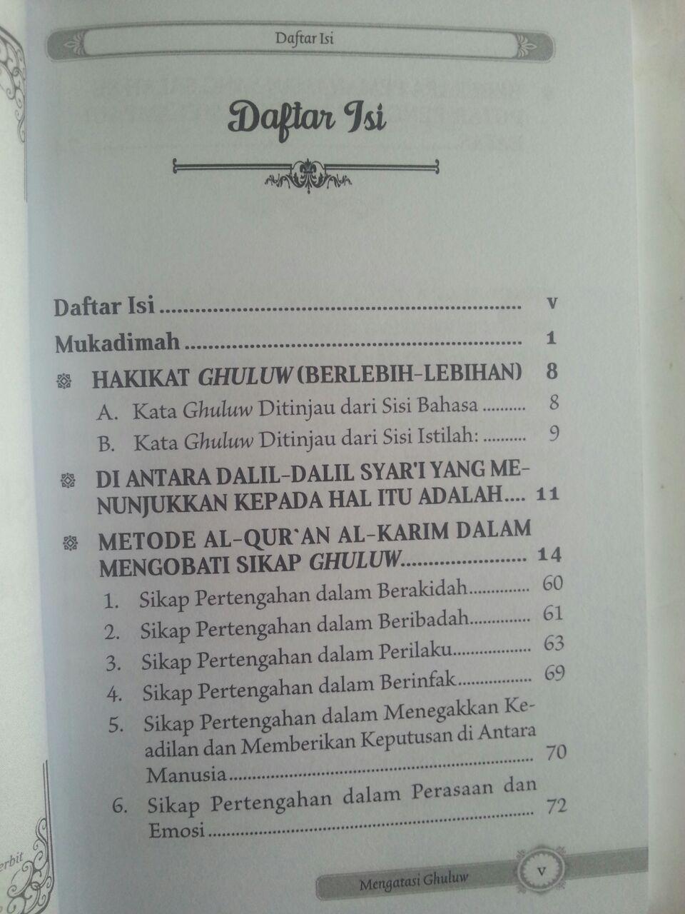 Buku Metode Al-Qur'an Dalam Mengatasi Sikap Berlebihan Dalam Agama isi 2