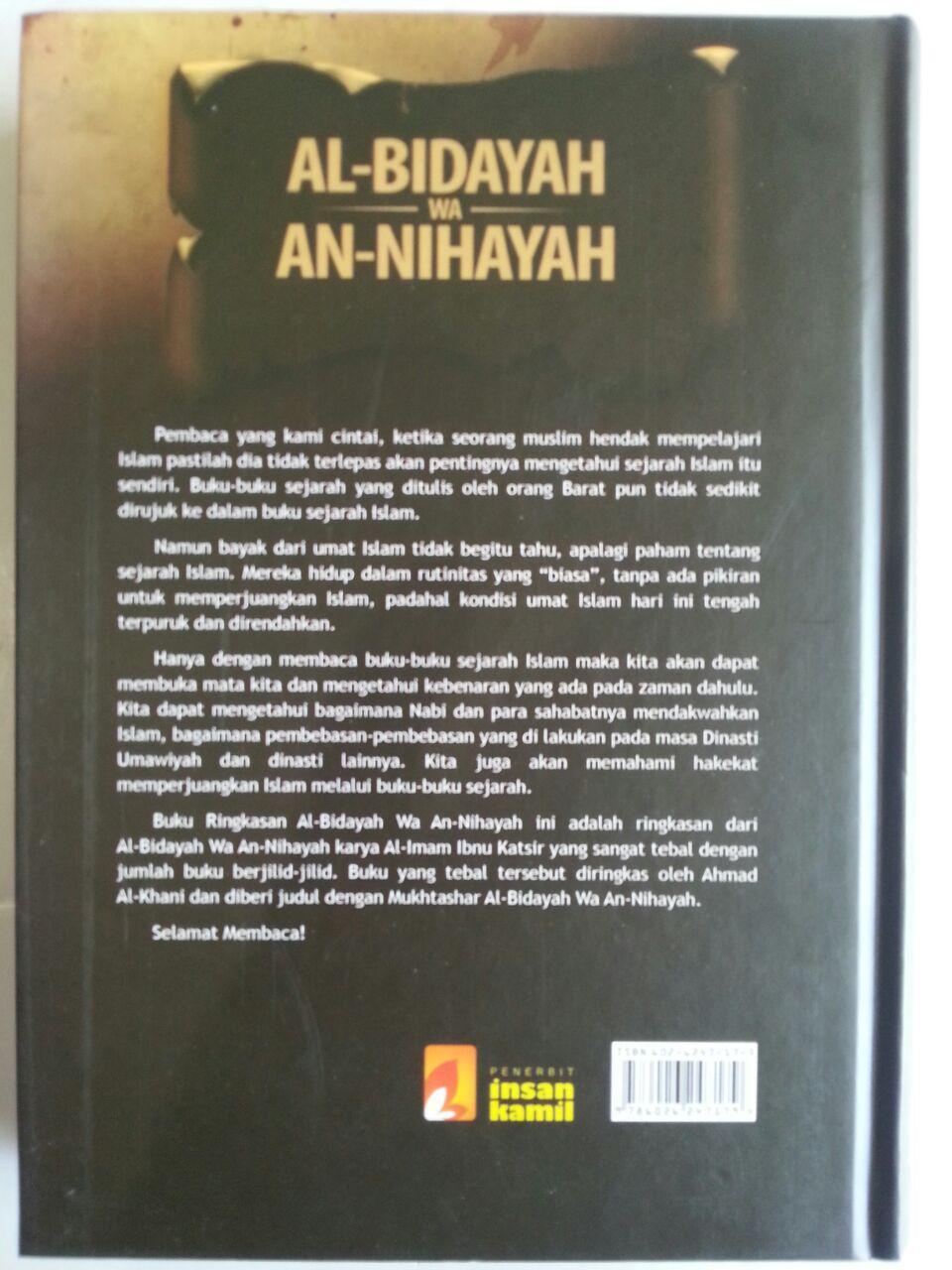 Buku Mukhtashar Al-Bidayah Wa An-Nihayah Ibnu Katsir cover