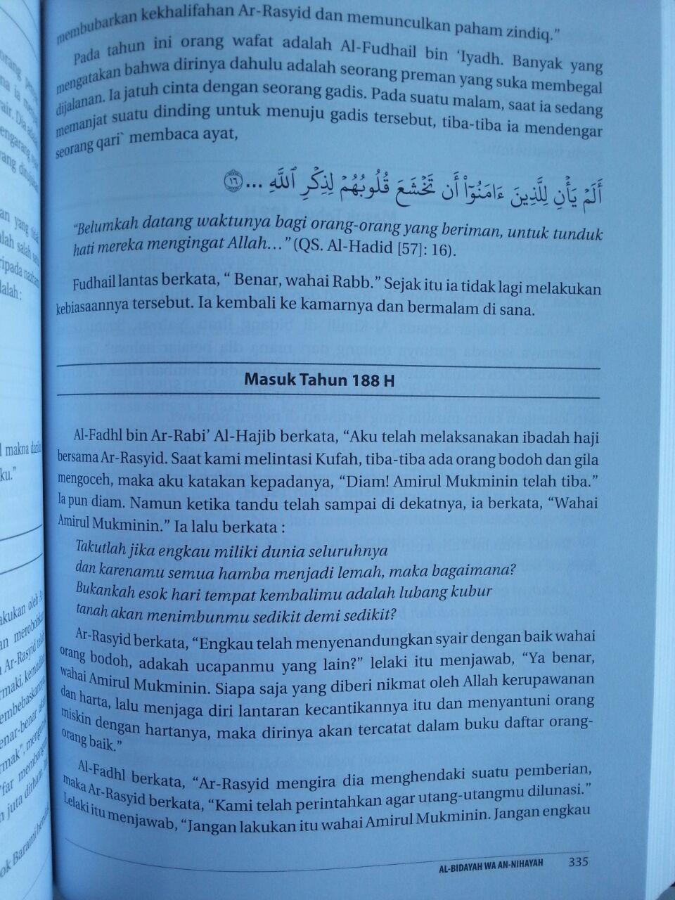 Buku Mukhtashar Al-Bidayah Wa An-Nihayah Ibnu Katsir isi 3