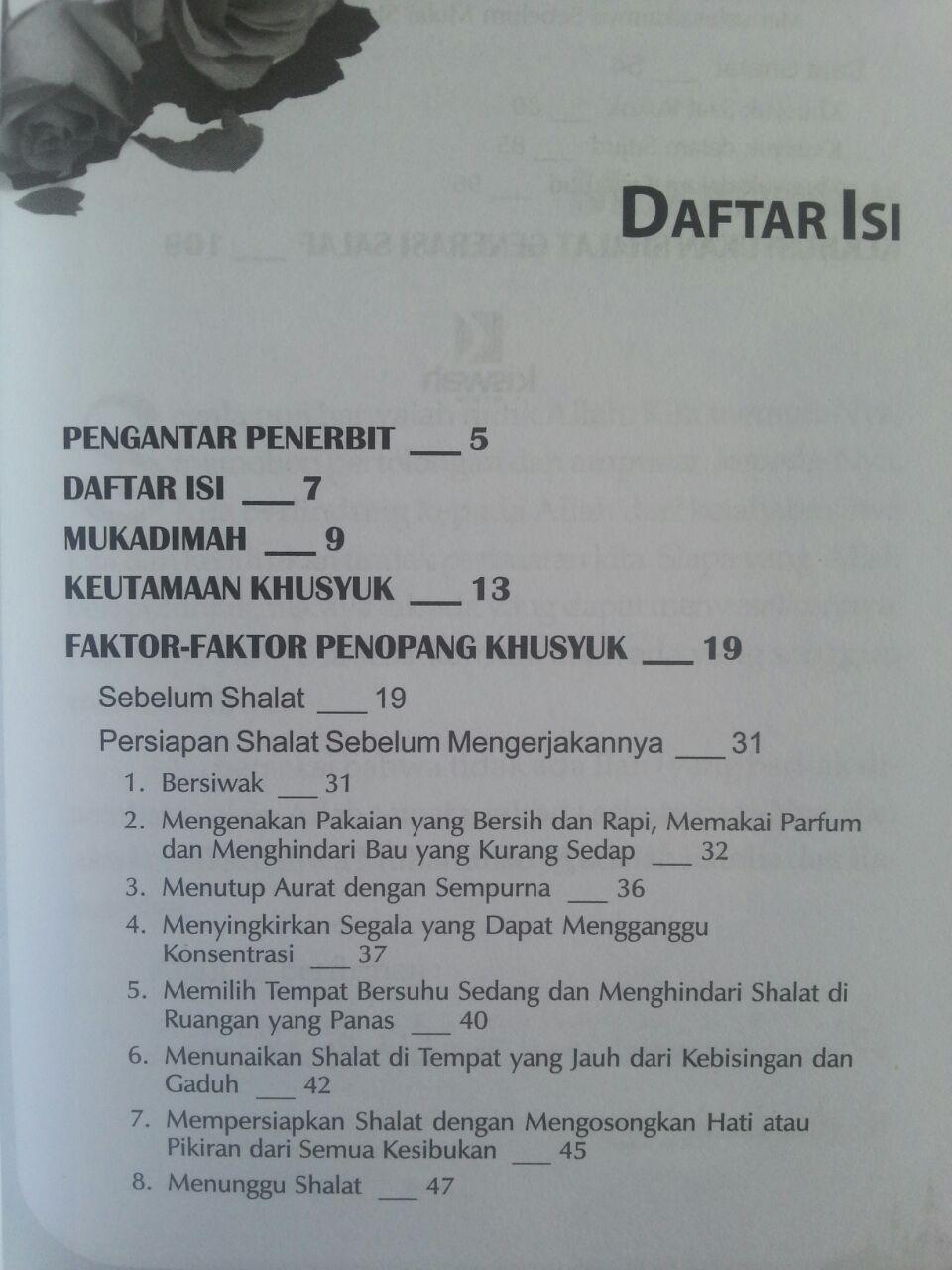 Buku Muslimah Pun Bisa Khusyuk Bagaima Khusyuk Dalam Shalat isi 2