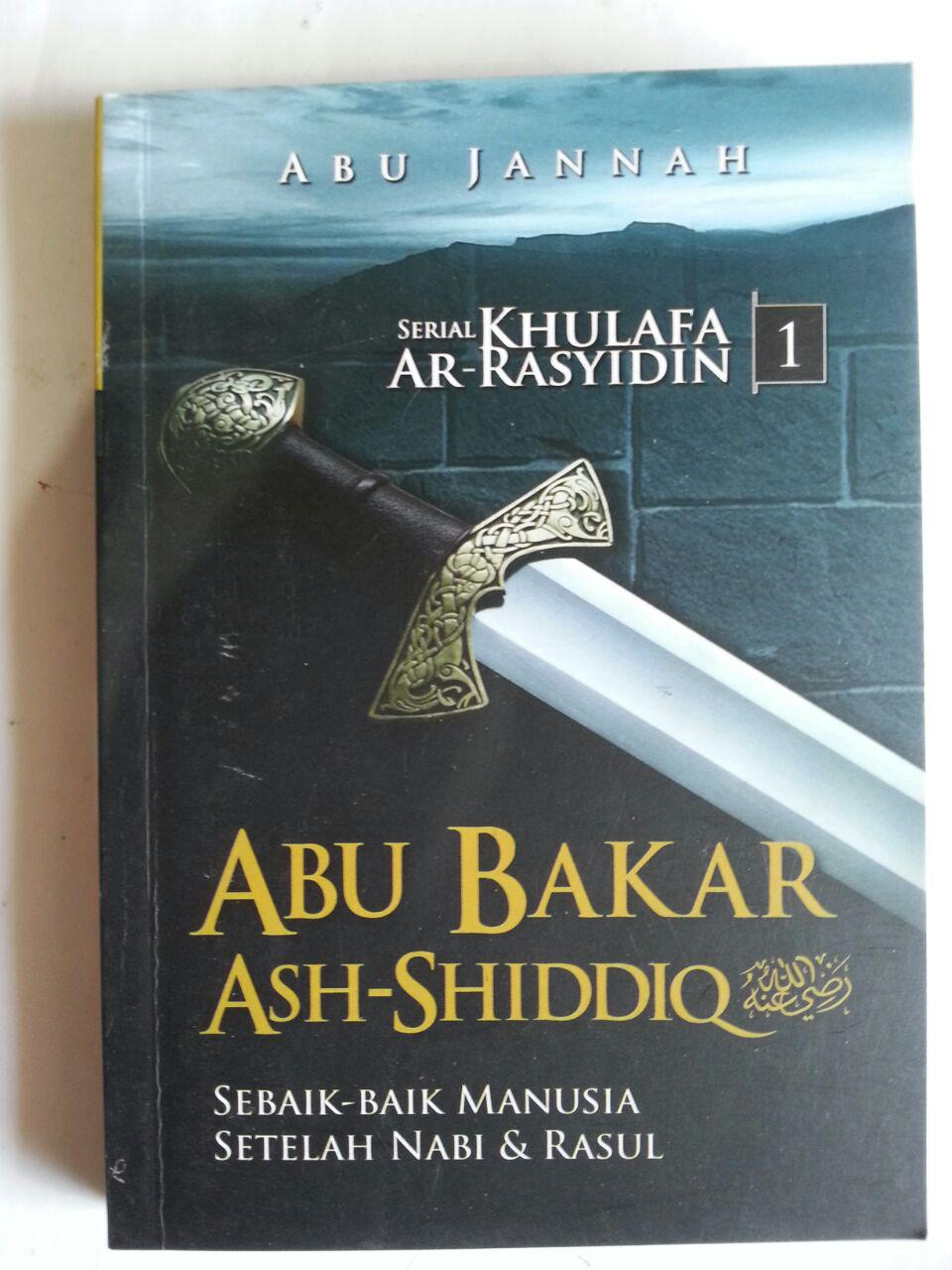 Buku Serial Khulafa Ar-Rasyidin 1 Set 4 Jilid cover 2