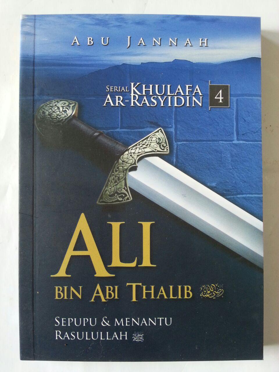 Buku Serial Khulafa Ar-Rasyidin 1 Set 4 Jilid cover 8