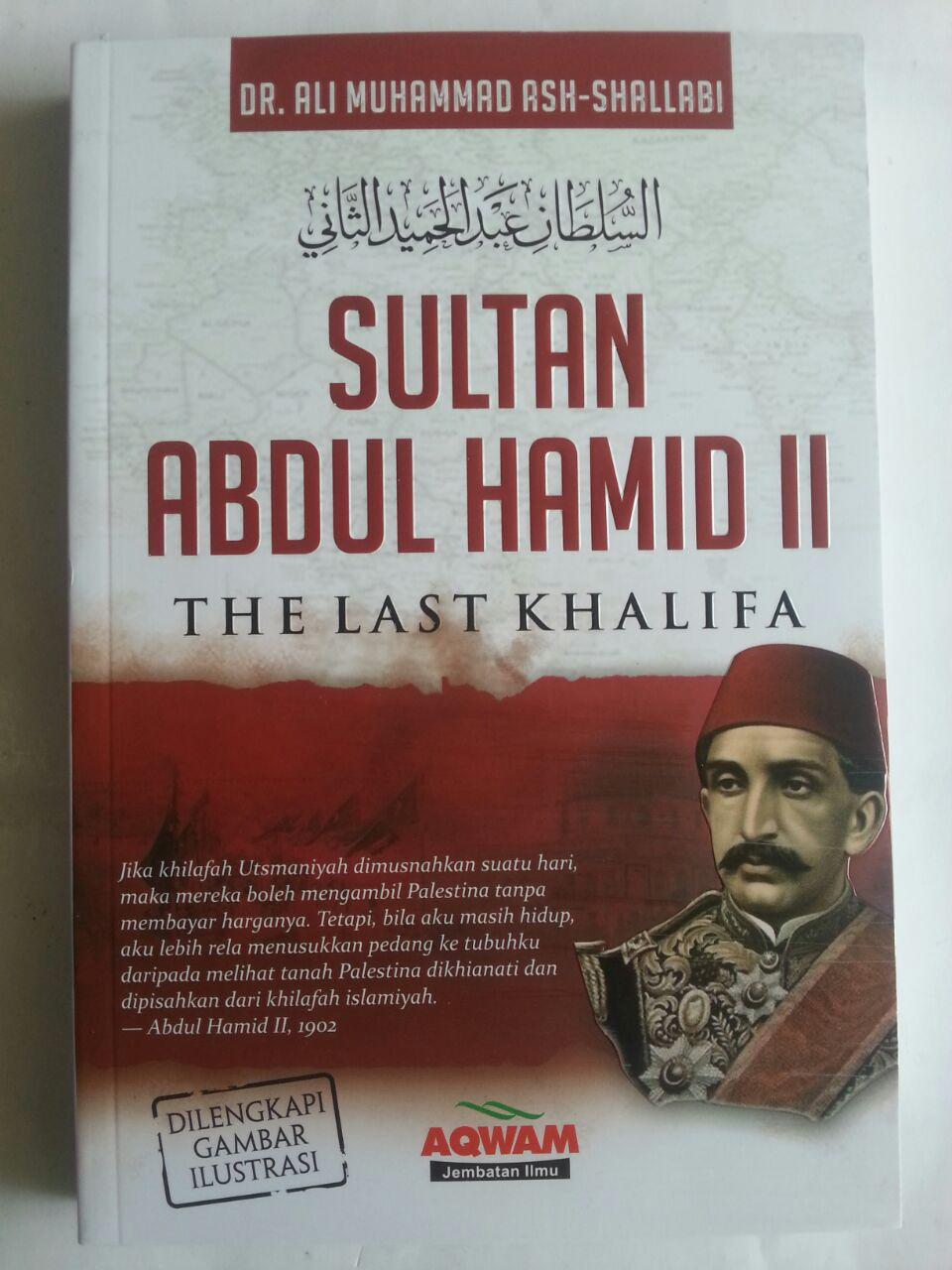 Buku Sultan Abdul Hamid II The Last Khalifa cover 2